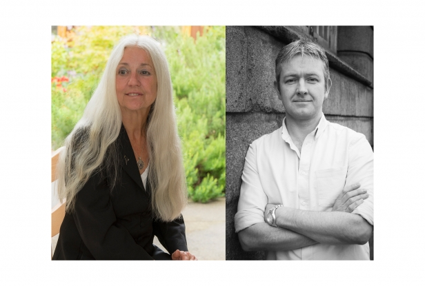 Paula Meehan and Colm Keegan