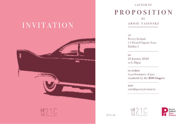 Launch of Proposition by Arnie Yasinski