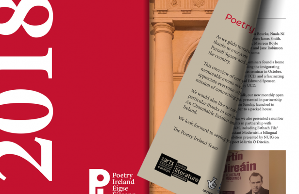 Poetry Ireland in 2018