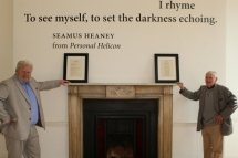 The winners of the world's very first men's sheds poetry contest are announced in Dublin.