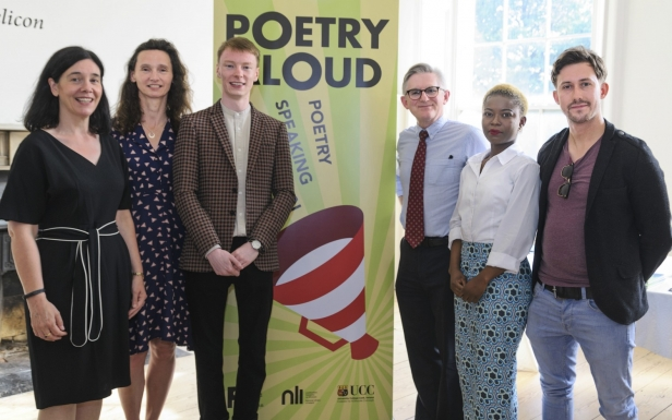 UCC announced as major new partner for Poetry Aloud
