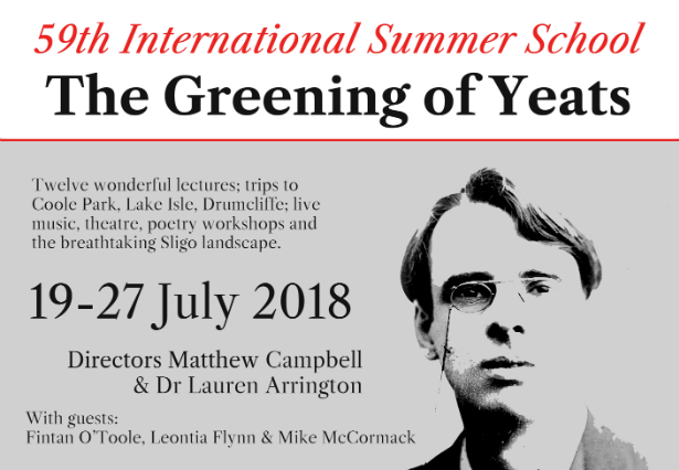 Deadline extended! Poetry Ireland Yeats Summer School Scholarship
