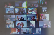 Writers in Schools visit at Timahoe National School takes place via Zoom