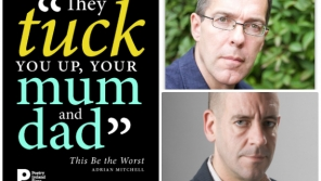 Poet Pat Boran in conversation with historian Diarmaid Ferriter