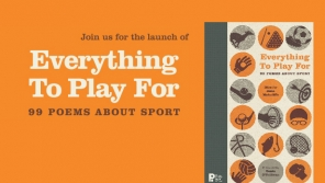 Book Launch: Everything to Play For: 99 Poems about Sport