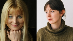 Mary Costello and Sally Rooney, introduced by Molly McCloskey at Bualadh Boston 2018