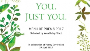 Menu of Poems 2017: 'You. Just You'
