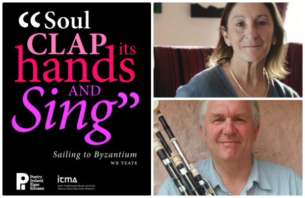 """Soul Clap its Hands and Sing"": Mary O'Malley (poet) & Tommy Keane (uilleann pipes)"