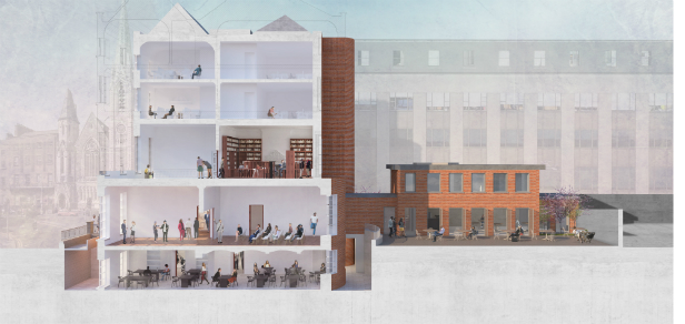 The next chapter in Dublin's literary quarter